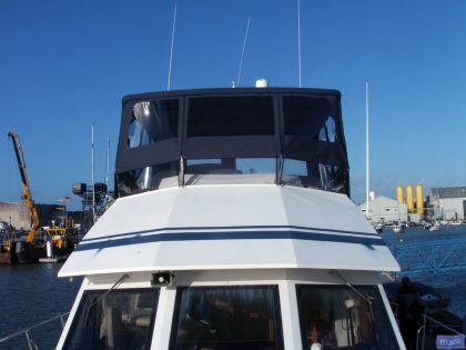 hi star 48 flybridge bimini and bimini conversion 1