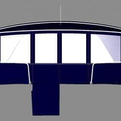 Beneteau Oceanis 46 Bimini conversion to suit Tecsew bimini and sprayhood_2