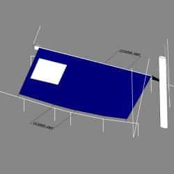 Moody 49 Boom Tent with window and zipped door_1