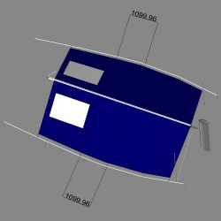 Moody 49 Boom Tent with window and zipped door_2