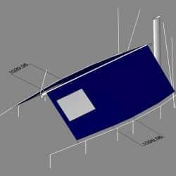 Moody 49 Boom Tent with window and zipped door_5