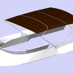 Sealine F46 Flybridge Bimini_1