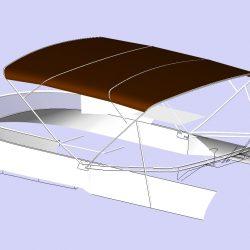 Sealine F46 Flybridge Bimini_2