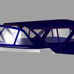Sealine T50 Flybridge Bimini and Bimini Conversion_8