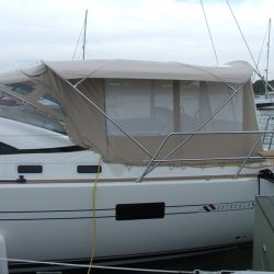 Southerly 57/04 Bimini Conversion with mesh windows_1