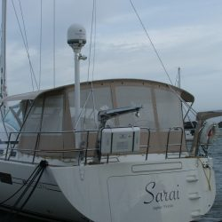Southerly 57/04 Bimini Conversion with mesh windows_2