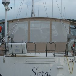 Southerly 57/04 Bimini Conversion with mesh windows_3