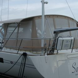 Southerly 57/04 Bimini Conversion with mesh windows_4