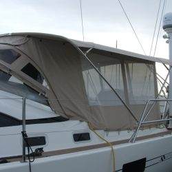 Southerly 57/04 Bimini Conversion with mesh windows_5
