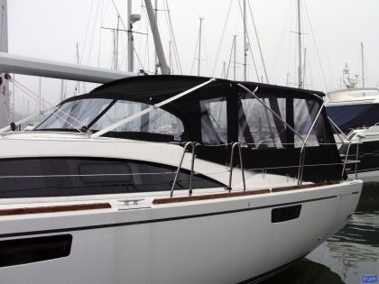 Bavaria Vision 46, 2013 Bimini Conversion_1