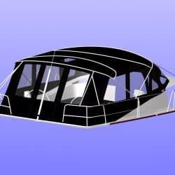 Bavaria Vision 46, 2013 Bimini Conversion_6