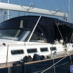 Beneteau 57 Bimini Conversion_4