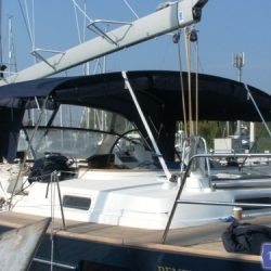 Beneteau 57 Bimini Conversion_1