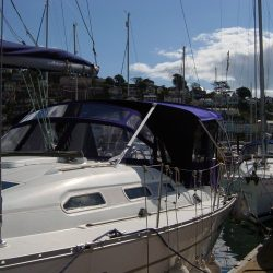Beneteau Oceanis 393 Bimini Conversion_2