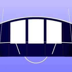 Beneteau Oceanis 393 Bimini Conversion_7