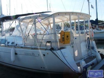 Beneteau Oceanis 46 Bimini Conversion_1