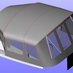 Elan 434 Bimini Conversion with Tecsew Bimini and Sprayhood_10