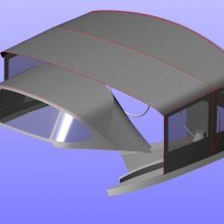 Elan 434 Bimini Conversion with Tecsew Bimini and Sprayhood_14