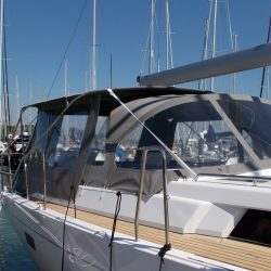 Hanse 455 Basic Bimini Conversion_1