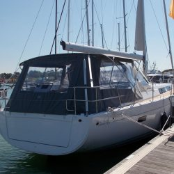 Hanse 455 Basic Bimini Conversion_2