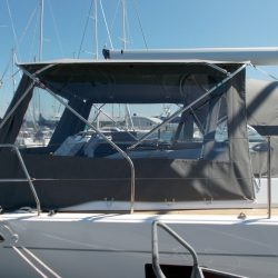 Hanse 455 Basic Bimini Conversion_3