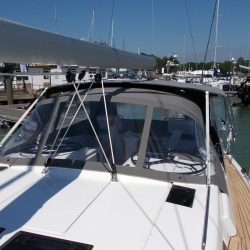 Hanse 455 Basic Bimini Conversion_4