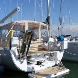 Hanse 575 Bimini Conversion to narrow standard Bimini_3