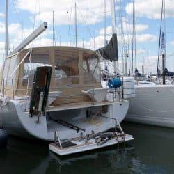 Hanse 575 Bimini Conversion to narrow standard Bimini_6