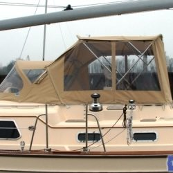 Island Packet 485 Bimini Conversion_6