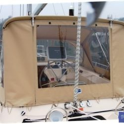 Island Packet 485 Bimini Conversion_5