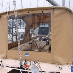 Island Packet 485 Bimini Conversion_4