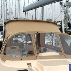 Island Packet 485 Bimini Conversion_3