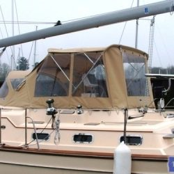 Island Packet 485 Bimini Conversion_1