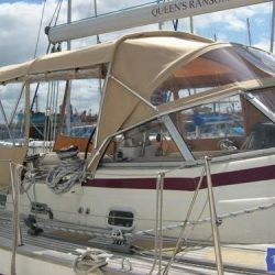 Najad 520 Bimini Conversion_5
