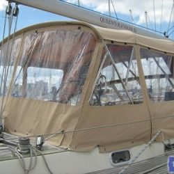 Najad 520 Bimini Conversion_4