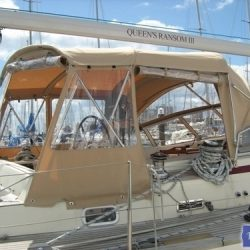 Najad 520 Bimini Conversion_6
