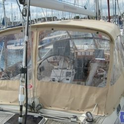 Najad 520 Bimini Conversion_3
