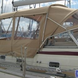 Najad 520 Bimini Conversion_1