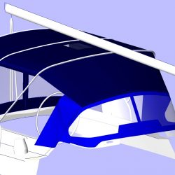 Oyster 406 Bimini Conversion_2