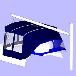 Oyster 406 Bimini Conversion_6