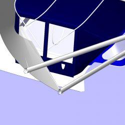 Oyster 406 Bimini Conversion_8