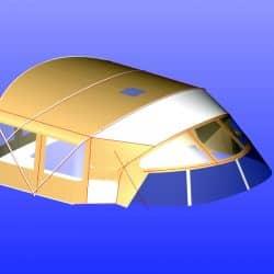 Westerly 49 Bimini Conversion_5