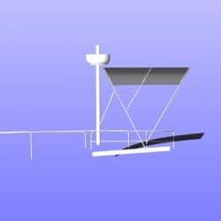 Beneteau Swift Trawler ST 30, Flybridge Bimini_11