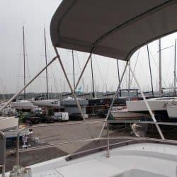 Beneteau Swift Trawler ST 30, Flybridge Bimini_2