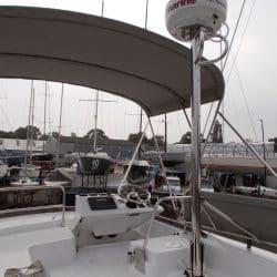 Beneteau Swift Trawler ST 30, Flybridge Bimini_3