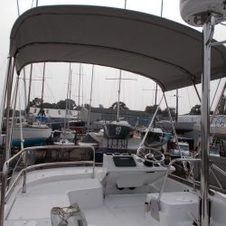 Beneteau Swift Trawler ST 30, Flybridge Bimini_4