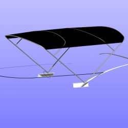 BMB 420 Virtess 420 Flybridge Bimini_9