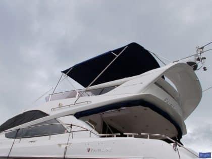 Fairline Phantom 48, Flybridge Bimini_1