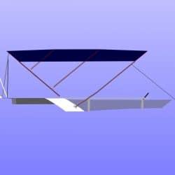 Fairline Squadron 42 Flybridge Bimini_14