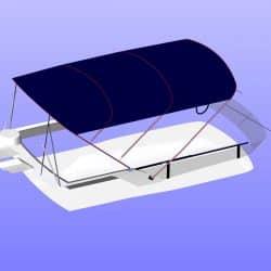 Fairline Squadron 42 Flybridge Bimini_16